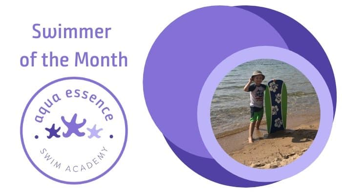 swimmer of the month